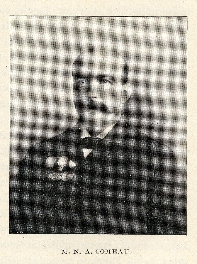 M. N.-A. Comeau, 1897 Source: BANQ