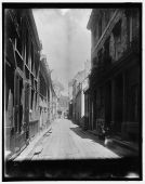 Rue du Petit-Champlain, entre 1890 et 1901. / Champlain St., Quebec