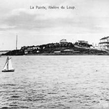 La pointe de Rivière-du-Loup en 1912. Credit: Canada. Patent and Copyright Office / Bibliothèque et Archives Canada / PA-029864